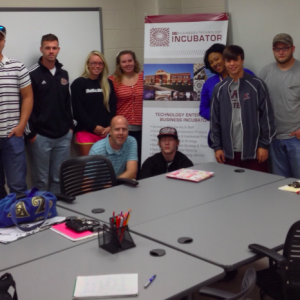CRE 101 Students Visit the Business Incubator